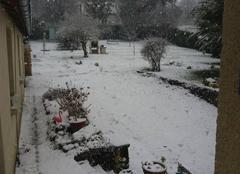 Neige Parmain 95620 C est tout blanc