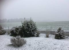 Neige Ferrieres-Haut-Clocher 27190 Chute de neige