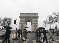 Neige Paris-16 75016 Il neige à Paris !