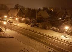 Neige Mutzig 67190 Averse de neige