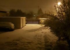 Neige Richwiller 68120 Il neige !
