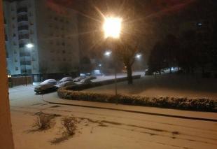 Neige Châlons-en-Champagne 51000 Nuit neigeuse