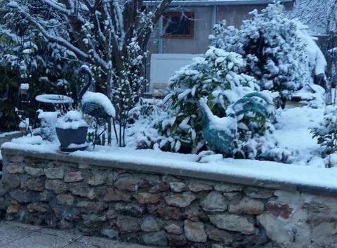 La neige le 18 mars