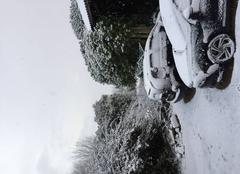 Neige Sibiril 29250 Neige au mois de mars