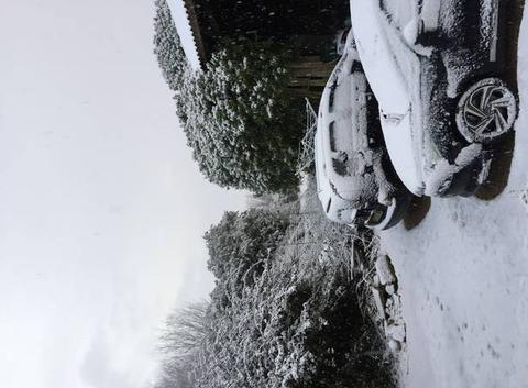 Neige au mois de mars