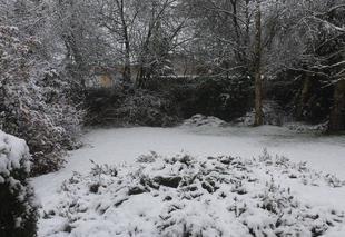 Neige Saint-Aubin-du-Cormier 35140 Neige à Saint Aubin du Cormier