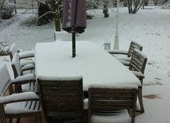 Neige Saint-Etienne-sous-Barbuise 10700 Super jolie mais pas tellement de saison