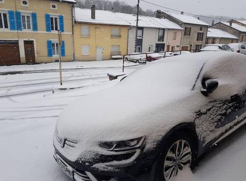 Enfin la neige