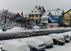 Neige Duttlenheim 67120 Bon dimanche sous la neige