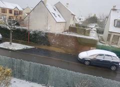 Neige Roissy-en-Brie 77680 Bientôt le printemps