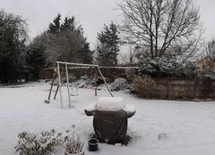 Neige Boissise-le-Roi 77310 Réveil sous la neige