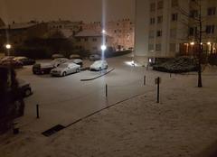 Neige Laxou 54520 Nancy blanc