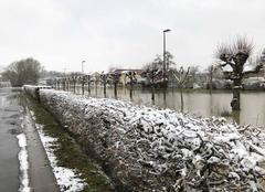Neige Saint-Remy-en-Bouzemont-Saint-Genest-et-Isson 51290 Eau et neige