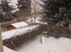 Neige Foug 54570 Blanc manteau