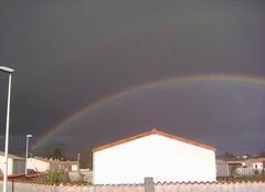 Pluie Tesson 17460 Pluie + arc en ciel ( 8°C) 16h35