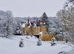 Neige Besse-sur-Braye 72310 Le Chatea de Courtanvaux à Bessé Sur Braye