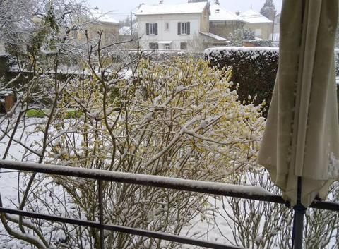Saint Dizier sous la neige