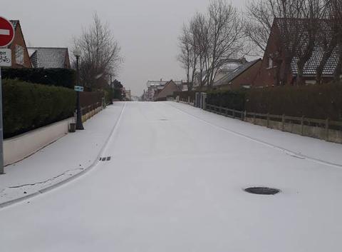 Neige dans le nord