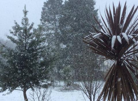 Il neige sur Landerneau