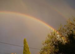 Pluie Gallargues-le-Montueux 30660 ARC-EN-CIEL