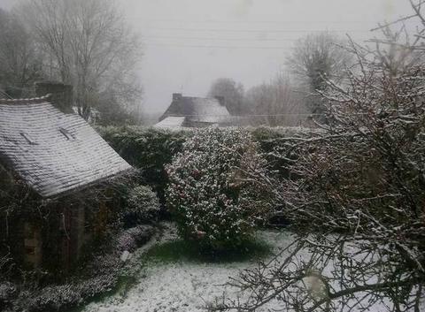 Centre Bretagne sous la neige