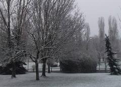 Neige Livry-Gargan 93190 Il neige