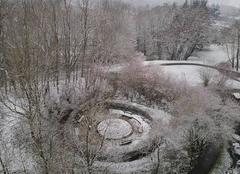 Neige Cergy 95000 A qq jours du printemps
