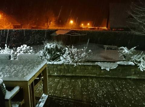 Neige le 19 mars a 3h30