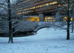 Neige Creteil 94000 Préfecture sous la neige