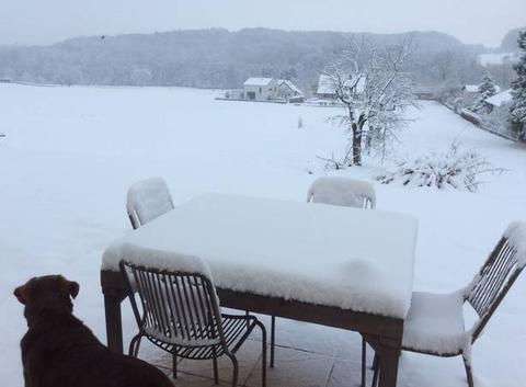 10 cm de neige le 18 mars 18