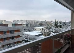 Neige Boulogne-Billancourt 92100 Au petit matin