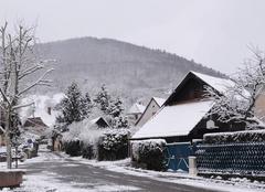 Neige Buhl 68530 Averses de neige