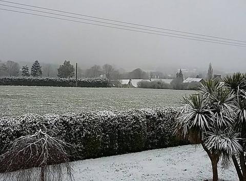 L'hiver continue