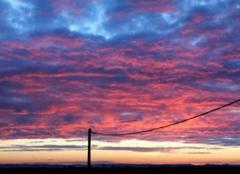 Ciel Saint-Lezer 65500 Ciel de ce lundi 19 mars 2018 à 07h 09  sur St Lézer.