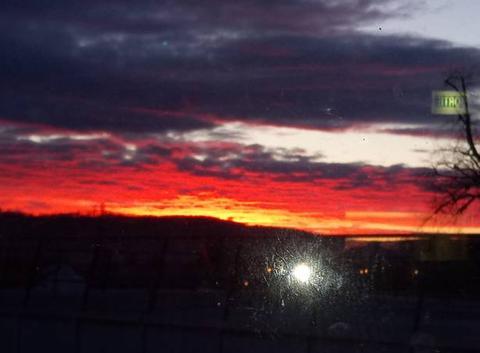 . magnifique lever de soleil