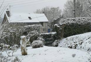 Neige Elbeuf 76500 Neige de printemps