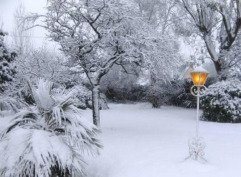 Neige en Finistère