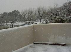 Insolite Saint-Georges-d'Oleron 17190 Il neige !