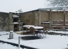 Neige La Rochelle 17000 Voilà la neige au printemps