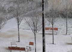 Neige Niort 79000 Ambiance hivernale pour ce 19 mars