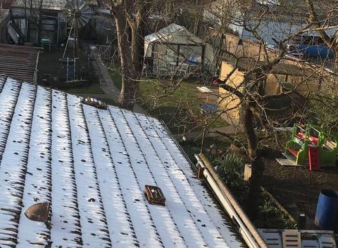Soleil après la neige