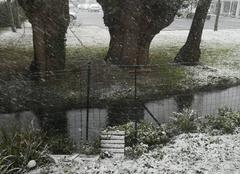 Neige La Rochelle 17000 Encore de la neige !!!!