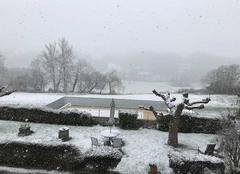 Neige Loudet 31580 Le Couloumé Loudet sous la neige