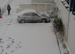 Neige Urrugne 64122 Mauvais temps