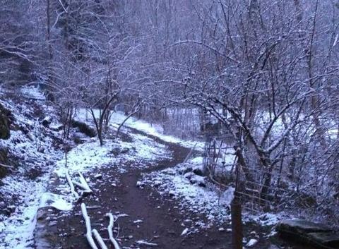 Légère neige