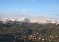 Neige Clairvaux-d'Aveyron 12330 Neige de printemps sur le Vallon