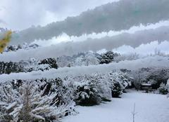 Neige Fuilla 66820 Première neige de printemps!