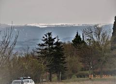 Neige Nogaret 31540 Quand la neige blanchit la Montagne Noire...