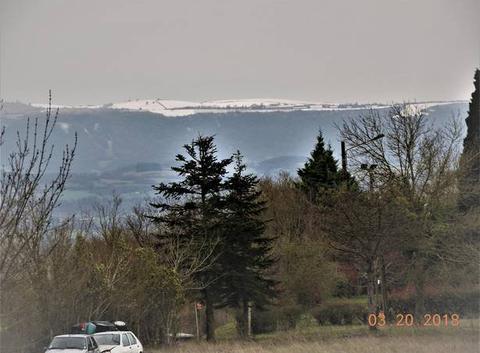 Quand la neige blanchit la Montagne Noire...