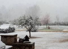 Neige Forcalqueiret 83136 Encore la neige sur Forcalqueiret!!!